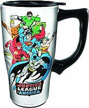 Spoontiques 12793 Justice League Ceramic Travel