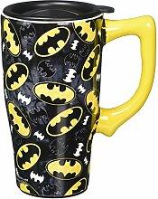 Spoontiques Batman Logos Travel Mug, One Size,