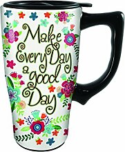 Spoontiques Make Every Day a Good Day Travel Mug,