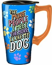 Spoontiques The More People Travel Mug, Multicolor