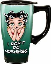 Spoontiques Weinglas, Edelstahl Betty Boop I