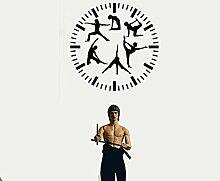 Sport-Aufkleber Uhr Fitness Sport für