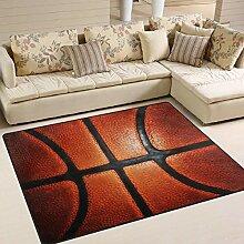 Sport-Basketball-Teppich 4 'x 6',