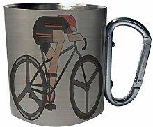 Sport Fahrrad Fahrrad Edelstahl Karabiner