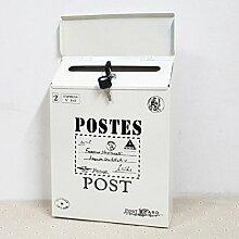 Sport Tent-Briefkasten Postkasten Antik-Look