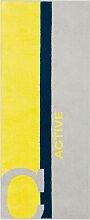 Sporthandtuch Active, Cawö 1x 70x180 cm,