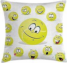 Sports Throw Pillow Cushion Cover, Tennis Ball