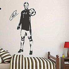 Sportthema Wandtattoos Fußballstar Manuel Neuer