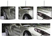 Sportwagen Silber Pinsel Effekt inkl.