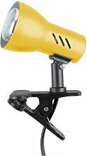 Spot-Light Klemmleuchte Clampspot E14, gelb SP-2120103K