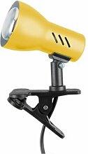 Spot-Light Klemmleuchte Clampspot E27, gelb SP-2110103K