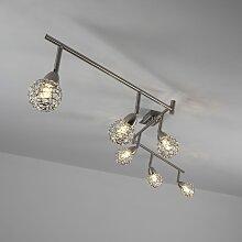SPOT Light,LED Deckenleuchte EASYFIX 6 -flg. / Ø8