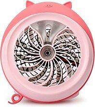 Spray Luftbefeuchter Ventilator Mini Tragbare
