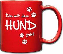 Spreadshirt Die Mit Dem Hund Geht Gassi Hunde