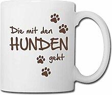 Spreadshirt Die Mit Den Hunden Geht Gassi Hunde