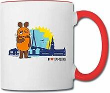 Spreadshirt Die Sendung Mit Der Maus Hamburg Tasse