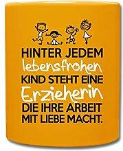 Spreadshirt Erzieherin Mit Liebe Lebensfrohe