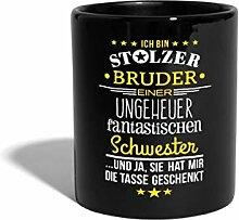 Spreadshirt Stolzer Bruder Fantastische Schwester