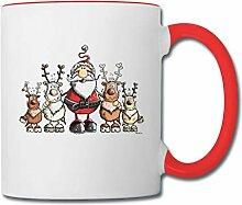 Spreadshirt Weihnachten Weihnachtsmann Mit