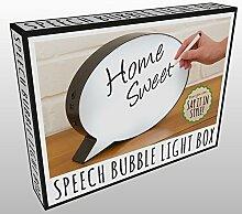 Sprechblase Dekolampe - Stimmungslicht Mood Light Stimmungslampe
