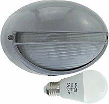 Spree -LED 10W - E27 - Aluminium -Alu wandstrahler