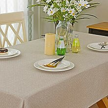 Spring Garden Home Kleine Tischdecke – rustikale