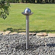 Springbrunnen aus Edelstahl für Garten ESB6
