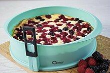 Springform Kuchen Backform aus Silikon mit Glas-