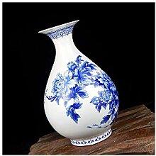 SPRINGHUA. Alte blau und weiß Glaze Medium