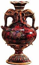 SPRINGHUA. Statuen Craft Geschenk Vase Nordic Home