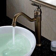 Sprinkle ? - classic massivem Messing Waschbecken Wasserhahn mit Ablaufgarnitur antiken