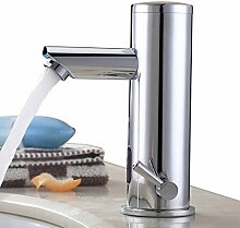 Sprinkle®Waschbecken Wasserhahn Chrom-Finish Wasserhahn Glas Waschtisch Spüle Armatur Waschtischarmatur Küchen
