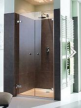 Sprinz BS-Dusche 150 rahmenlose Doppeltür
