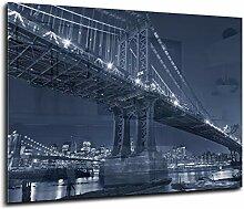 Spritzschutz aus Glas mit hochwertiger HD-Grafik
