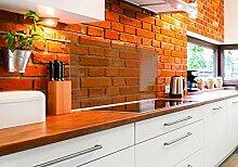Spritzschutz für die Küche, aus gehärtetem,