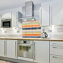 Spritzschutz für die Küche, aus Glas, 600 x 650