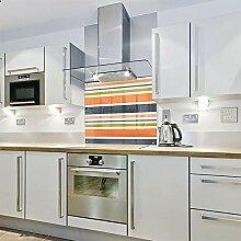 Spritzschutz für die Küche, aus Glas, 700 x 650