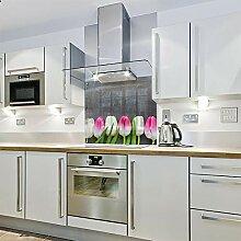 Spritzschutz für die Küche, aus Glas, 700 x 700