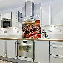 Spritzschutz für die Küche, aus Glas, 900 x 650