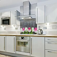 Spritzschutz für die Küche, Glas, 1000 x 650 cm