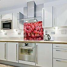 Spritzschutz für die Küche, Glas, 600 x 650 cm,