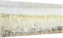 Spritzschutz-Glas mit Aufhängung - Goldene