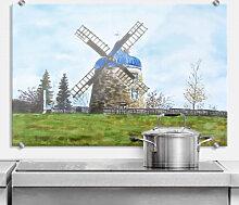 Spritzschutz - Spritzschutz Toetzke - Traditionelle Windmühle
