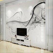 Sproud 3D Wandbild Foto Tapete Für Wohnzimmer Schlafzimmer Rauch Abstrakten Streifen Wand Dekor Landschaft Benutzerdefinierte Größe 3D-Landschaft Wallpaper 380cmX260cm