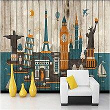 sproud Berühmten architektonischen Hintergrund Wallpaper_gestreifte Tapete Wandmalereien Store Cafe Bar nahtlose Hintergrund 200 cmX 140 cm