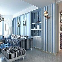 Sproud Blaue Mittelmeer vertikale Streifen Tapete minimalistischen Wohnzimmer Hintergrundbild Moderne den Papel De Parede 300cmx210cm