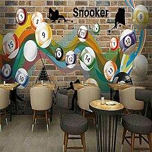 Sproud Custom 3D Wall Paper Home Improvement Dekorative Tapete Für Wände Billard Hintergrund Wallpaper Hintergrund Wandbilder 300Cmx210Cm
