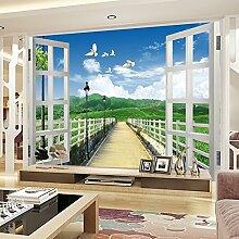 Sproud Der Wohnraum Im Wohnzimmer Des Kinder- Schlafzimmer Schlafzimmer Bett Wallpaper Sofa Tv-Landschaft Garten 300Cmx210Cm