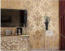 Sproud Diamanten europäischen Vliestapeten 3D Dreidimensionale geprägter Tapete Wohnzimmer Tv Hintergrundbild 300cmx210cm