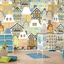 Sproud Europäische Gebäude Großes Wandbild/Esszimmer Schlafzimmer 3 D Selbstklebende Tapete 200 Cmx 140 Cm